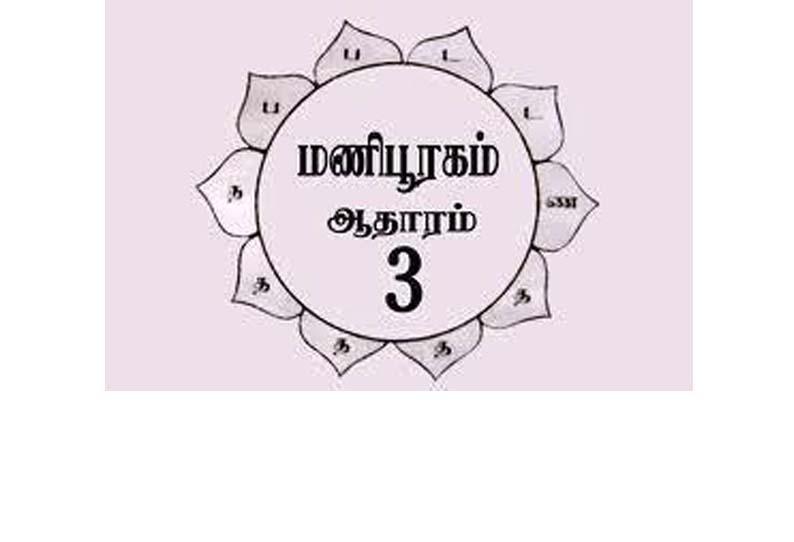 ஆறு ஆதார சக்கரம் – மணிபூரகம்