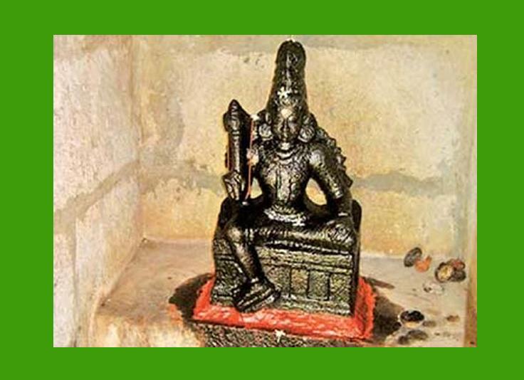 சுற்றி வரக் கூடாத சாமி